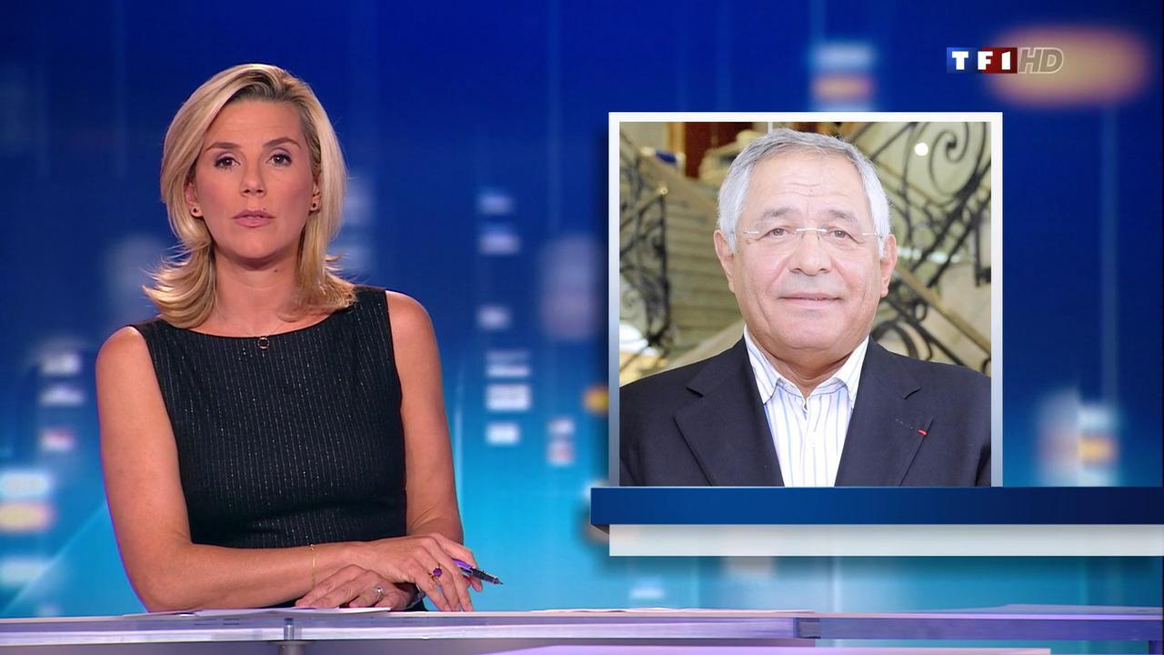 Laurence Ferrari au JT de 20h. Diffusé à la télévision le 22/09/11.