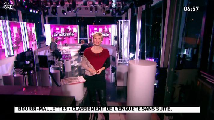 Maïtena Biraben dans la Matinale. Diffusé à la télévision le 17/11/11.