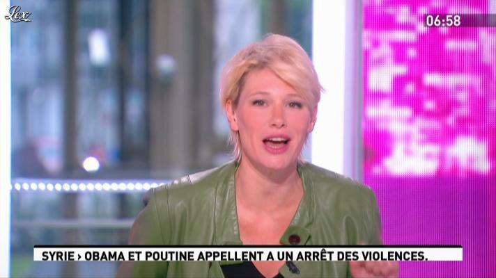 Maïtena Biraben dans la Matinale. Diffusé à la télévision le 19/06/12.
