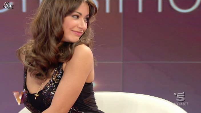 Melita Toniolo dans Verissimo. Diffusé à la télévision le 20/11/10.