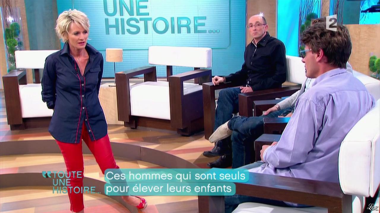 Sophie Davant dans Toute une Histoire. Diffusé à la télévision le 17/05/11.