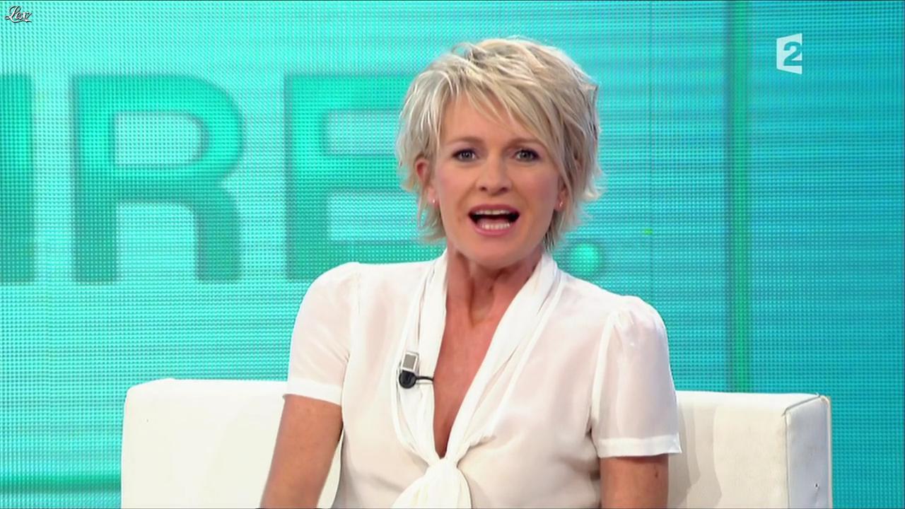 Sophie Davant dans Toute une Histoire. Diffusé à la télévision le 24/05/11.
