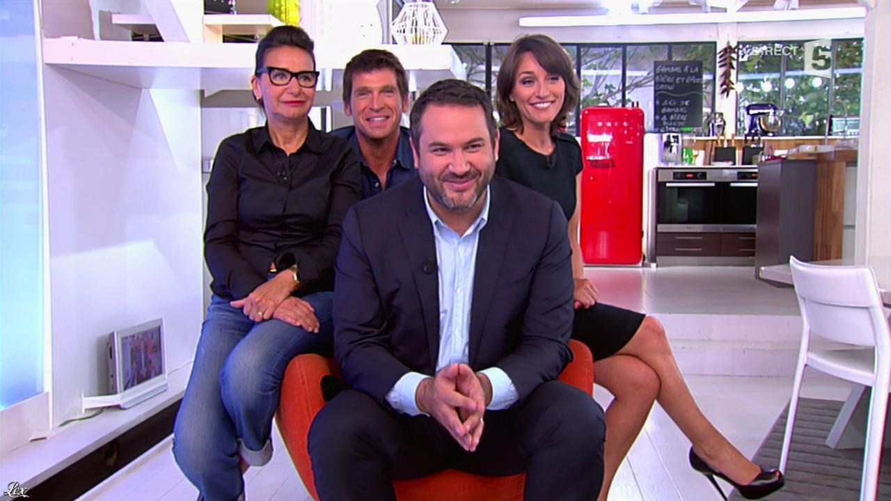 Amandine Begot dans C à Vous. Diffusé à la télévision le 18/06/14.