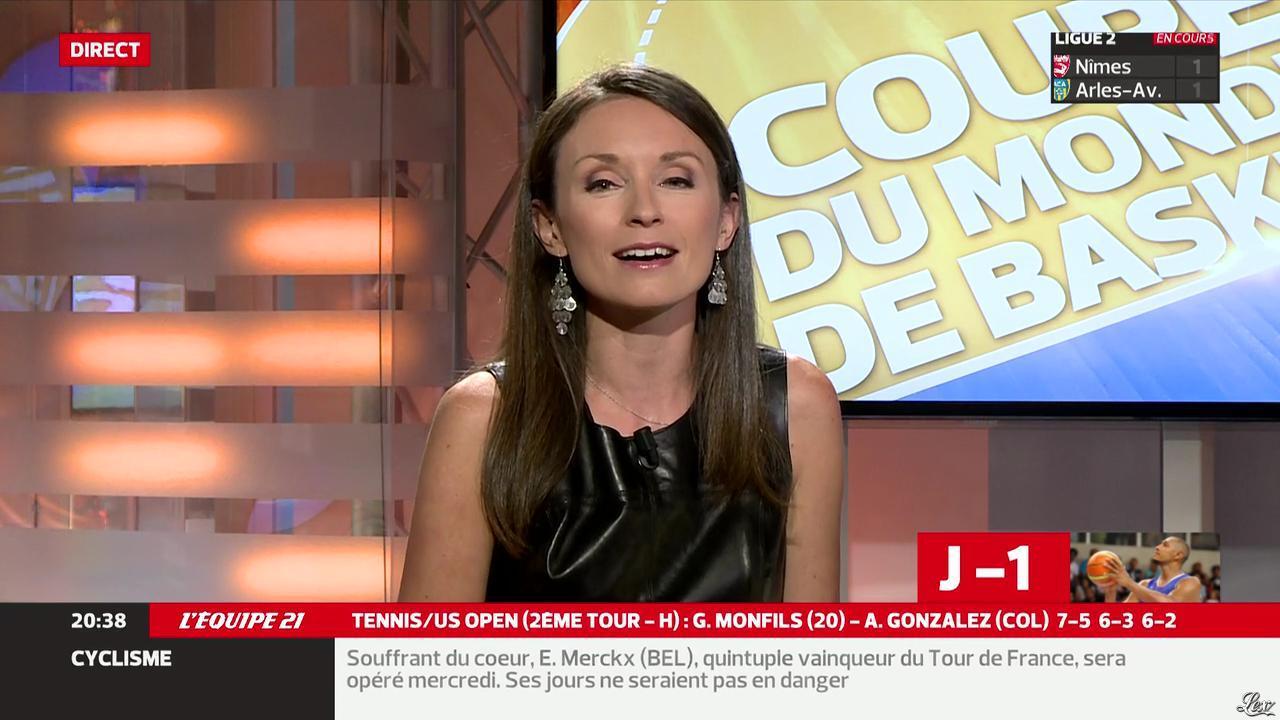 Gaelle Millon dans l'Equipe 21. Diffusé à la télévision le 29/08/14.