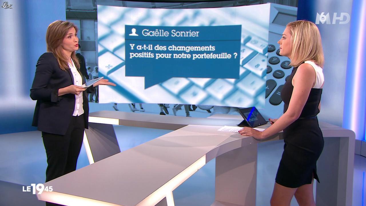 Karelle Ternier et Vicky Bogaert dans le 19-45. Diffusé à la télévision le 29/06/14.