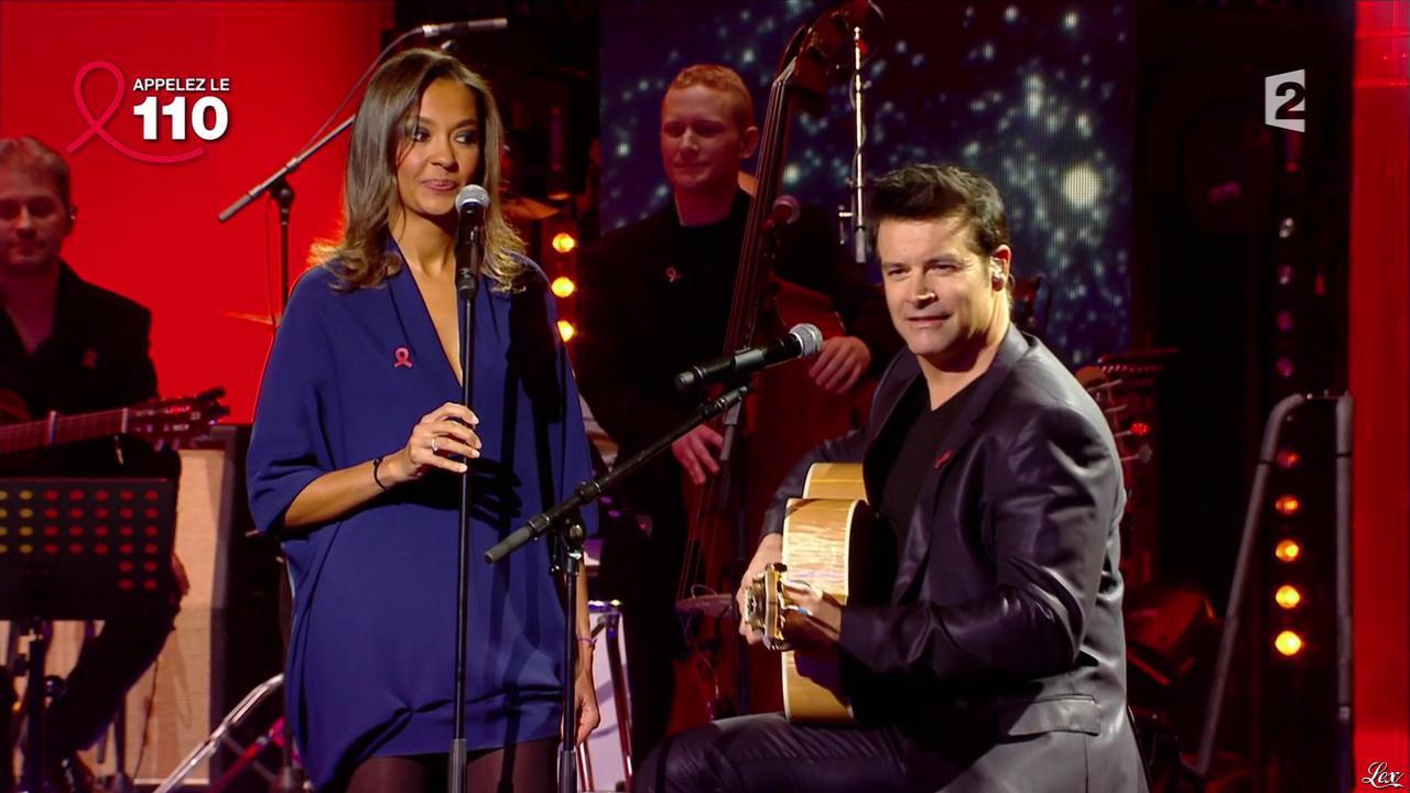 Karine Le Marchand dans Toute la Télé Chante Pour le Sidaction. Diffusé à la télévision le 06/04/13.