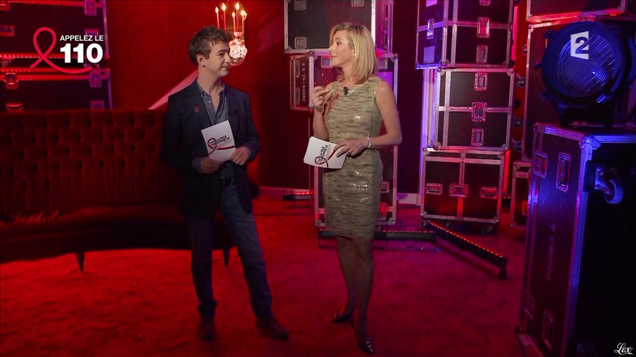 Laurence Ferrari dans Toute la Télé Chante Pour le Sidaction. Diffusé à la télévision le 06/04/13.
