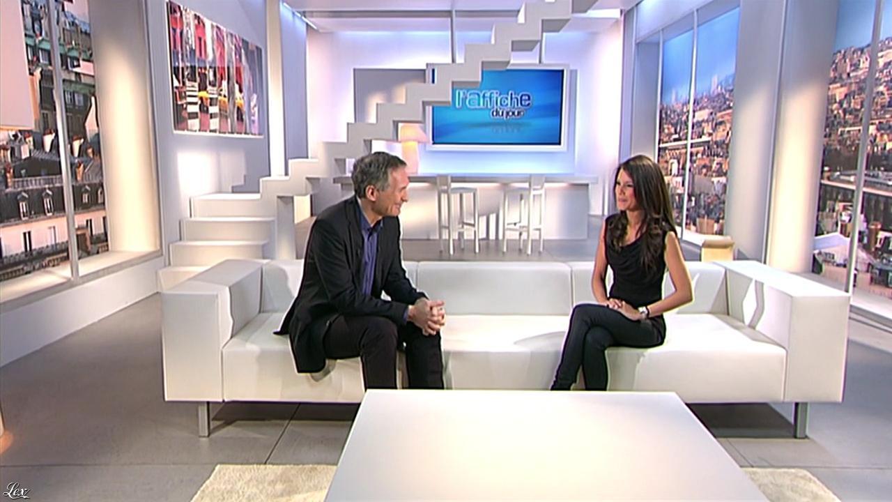 Marion Jollès dans l'Affiche du Jour. Diffusé à la télévision le 14/01/11.