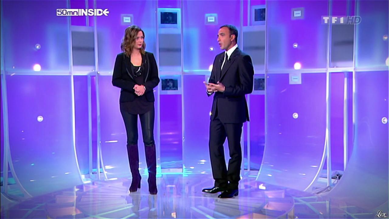 Sandrine Quétier dans 50 Minutes Inside. Diffusé à la télévision le 09/01/10.