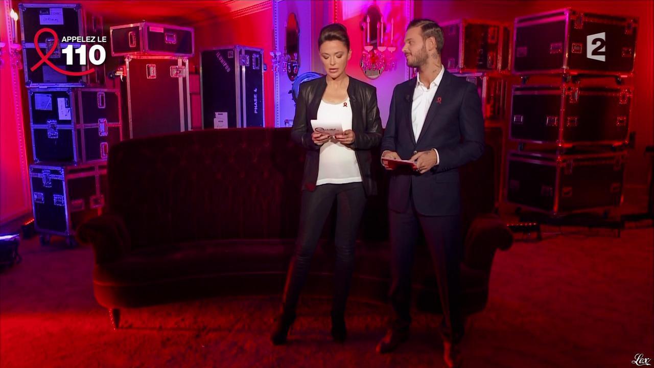Sandrine Quétier dans Toute la Télé Chante Pour le Sidaction. Diffusé à la télévision le 06/04/13.