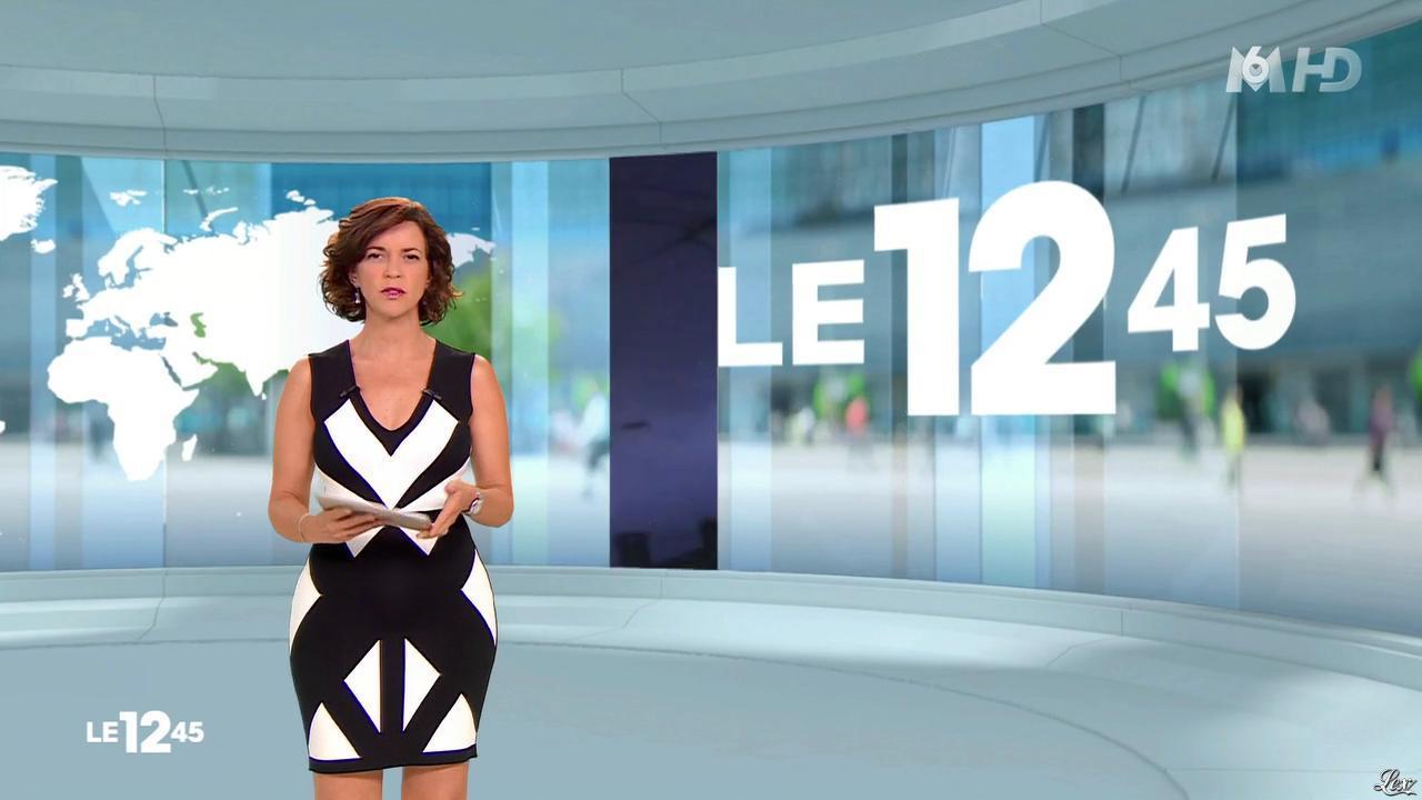 Nathalie Renoux dans le 12-45. Diffusé à la télévision le 19/07/15.