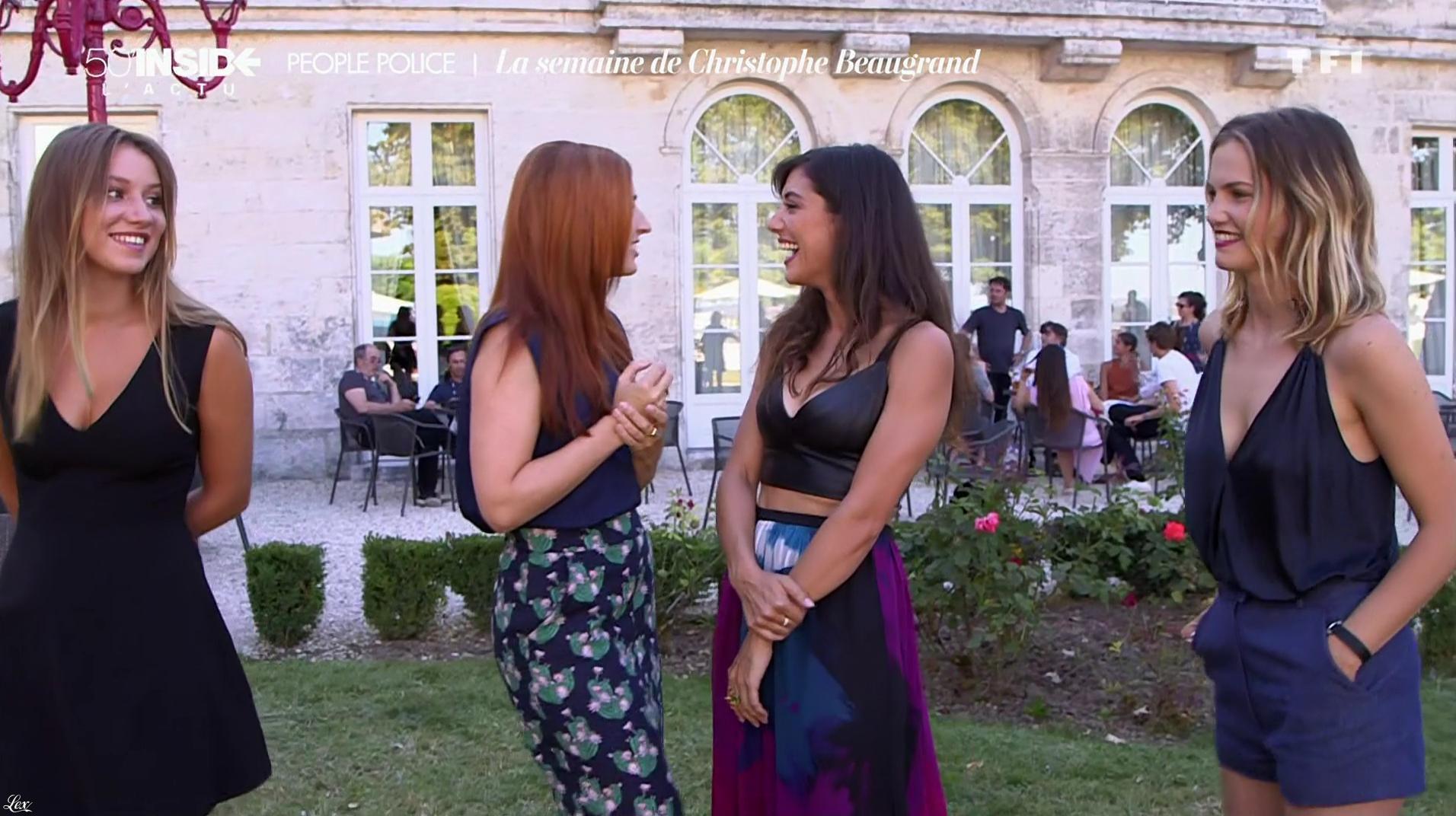 Alison Wheeler et Vanessa Guide dans 50 Minutes Inside. Diffusé à la télévision le 27/08/16.