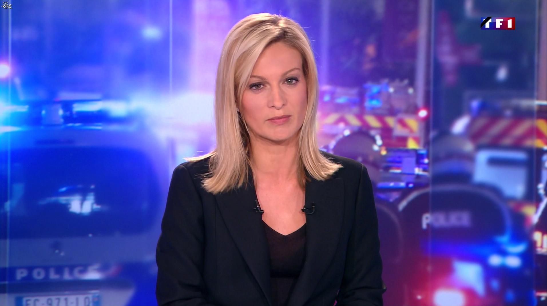 Audrey Crespo-Mara dans le 20h. Diffusé à la télévision le 15/07/16.
