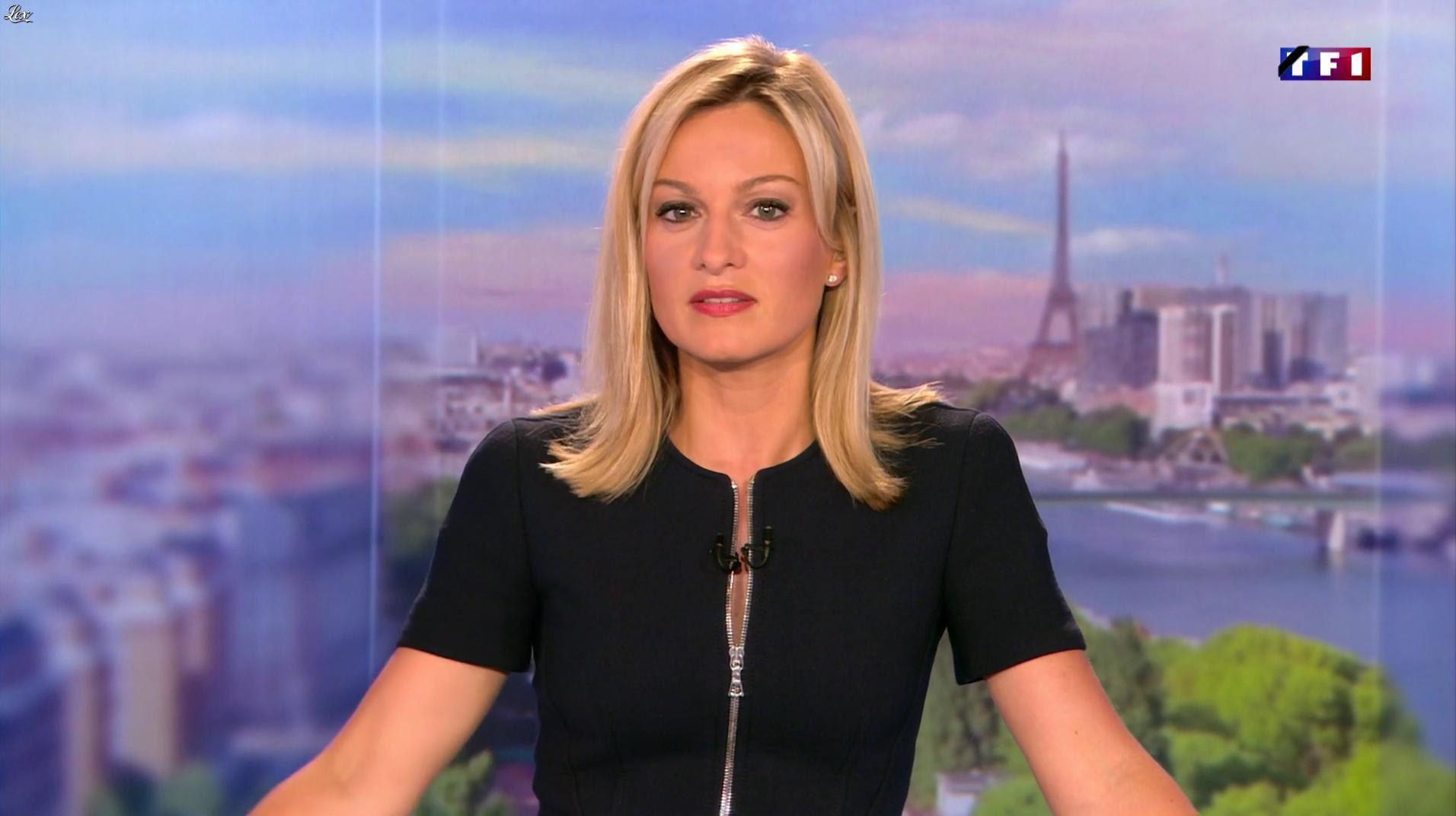 Audrey Crespo-Mara dans le 20h. Diffusé à la télévision le 16/07/16.
