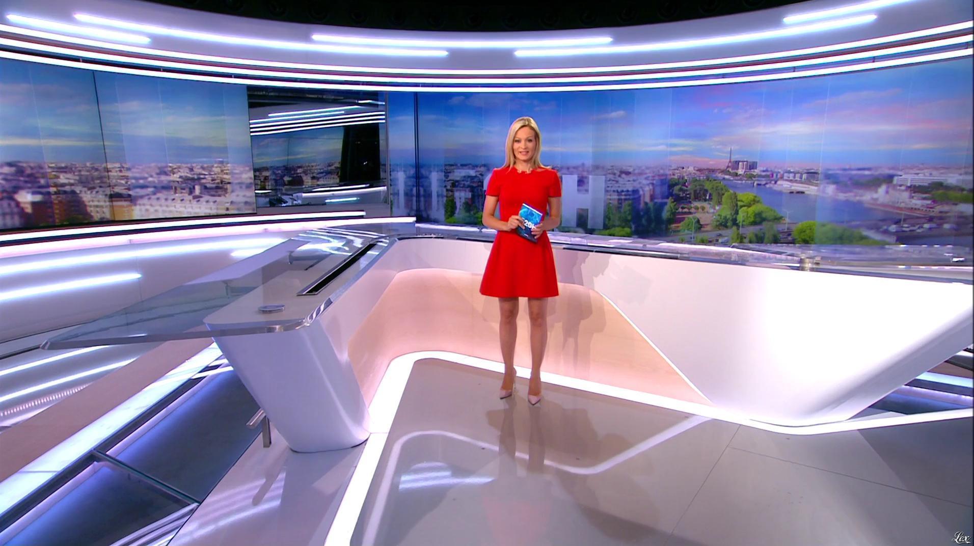 Audrey Crespo-Mara dans le 20h. Diffusé à la télévision le 19/08/16.