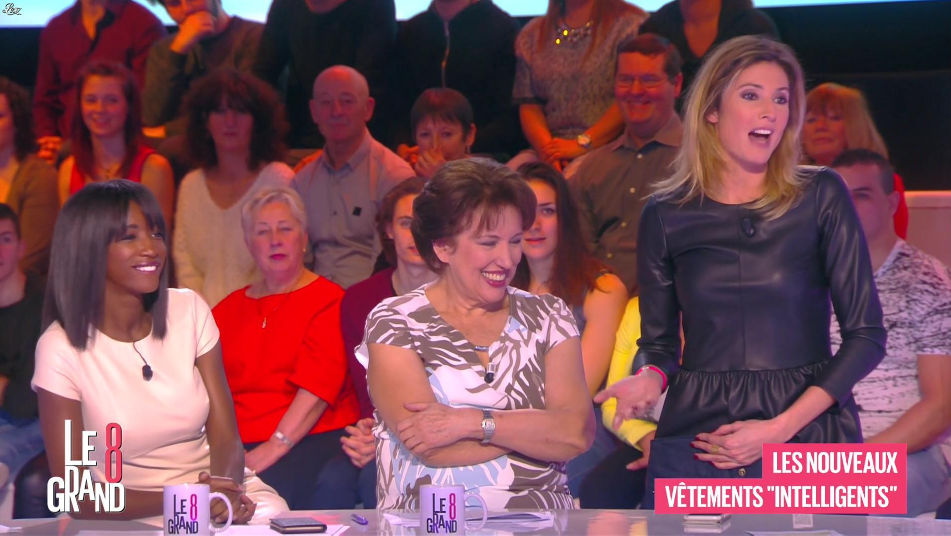 Caroline Ithurbide dans le Grand 8. Diffusé à la télévision le 01/02/16.