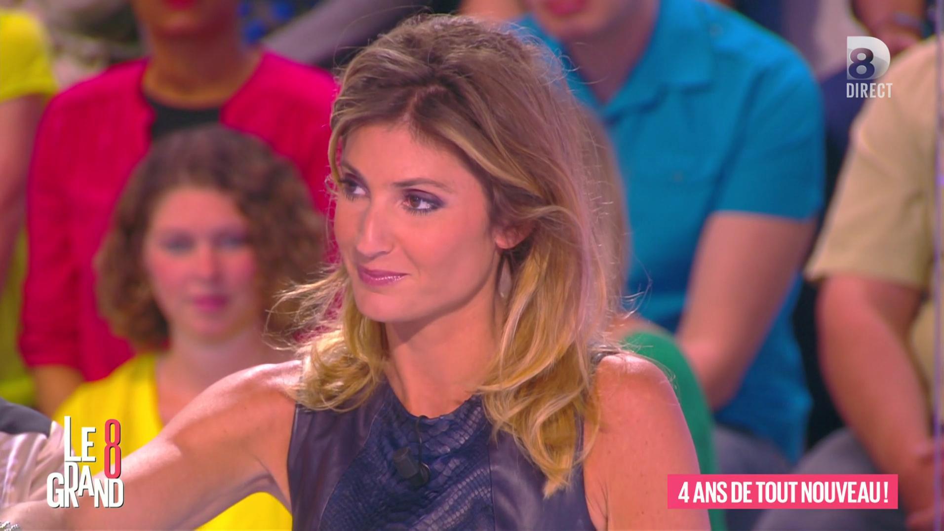 Caroline Ithurbide dans le Grand 8. Diffusé à la télévision le 30/06/16.
