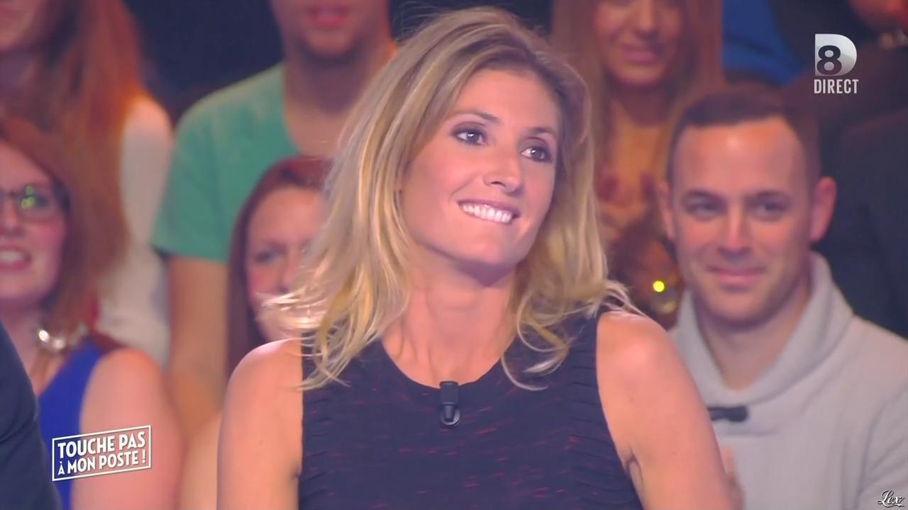 Caroline Ithurbide dans Touche pas à mon Poste. Diffusé à la télévision le 23/10/15.