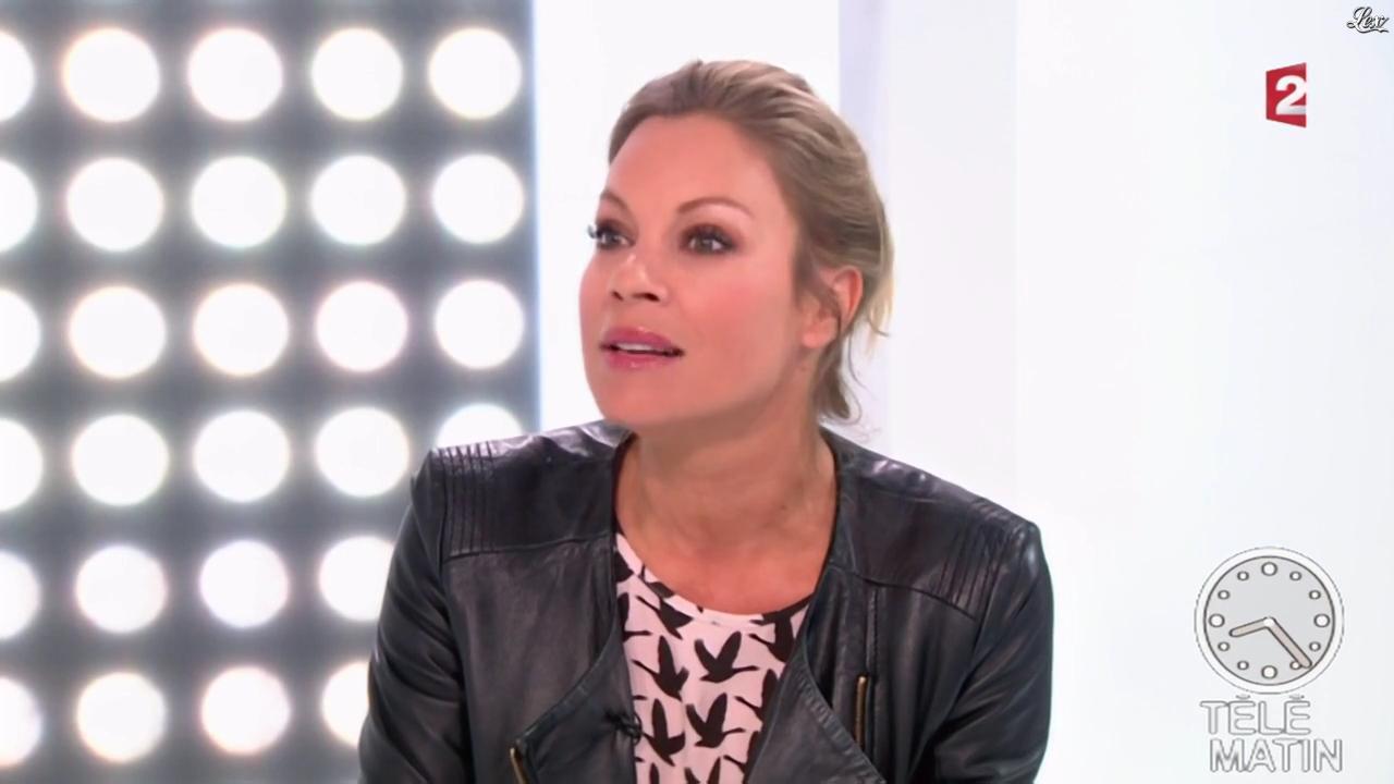 Charlotte Bouteloup dans Télématin. Diffusé à la télévision le 12/03/15.