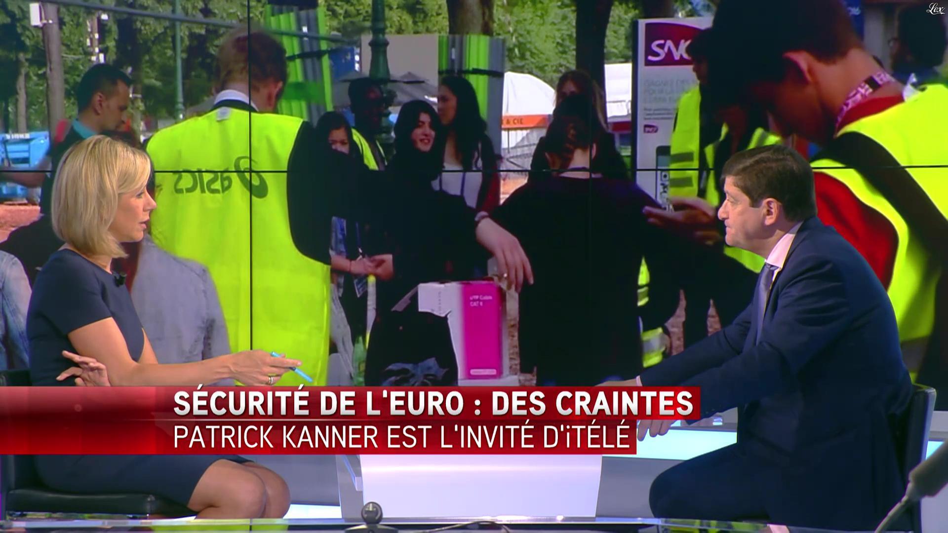 Laurence Ferrari dans Tirs Croisés. Diffusé à la télévision le 22/06/16.