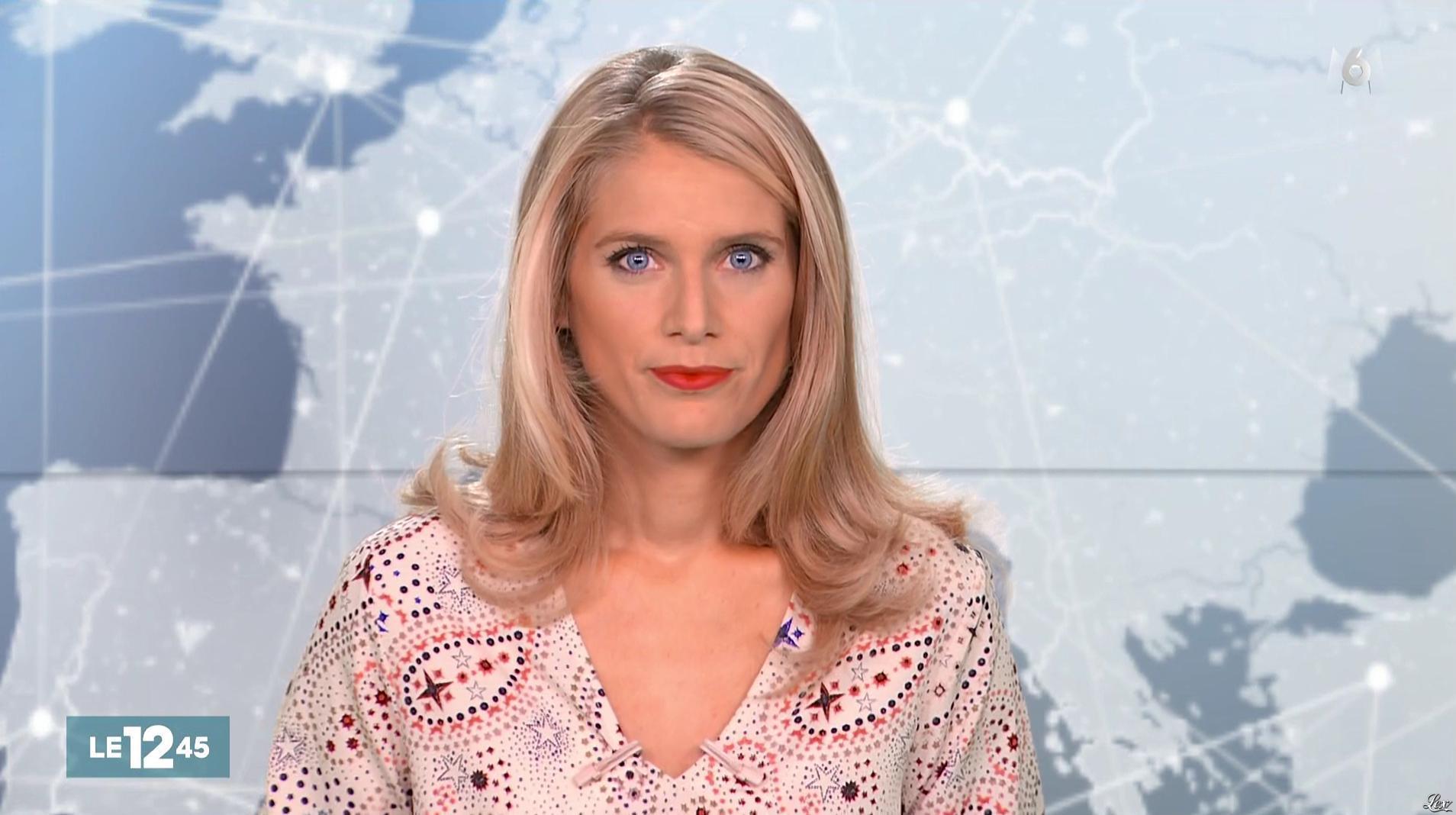 Laurie Desorgher dans le 12-45. Diffusé à la télévision le 19/08/16.