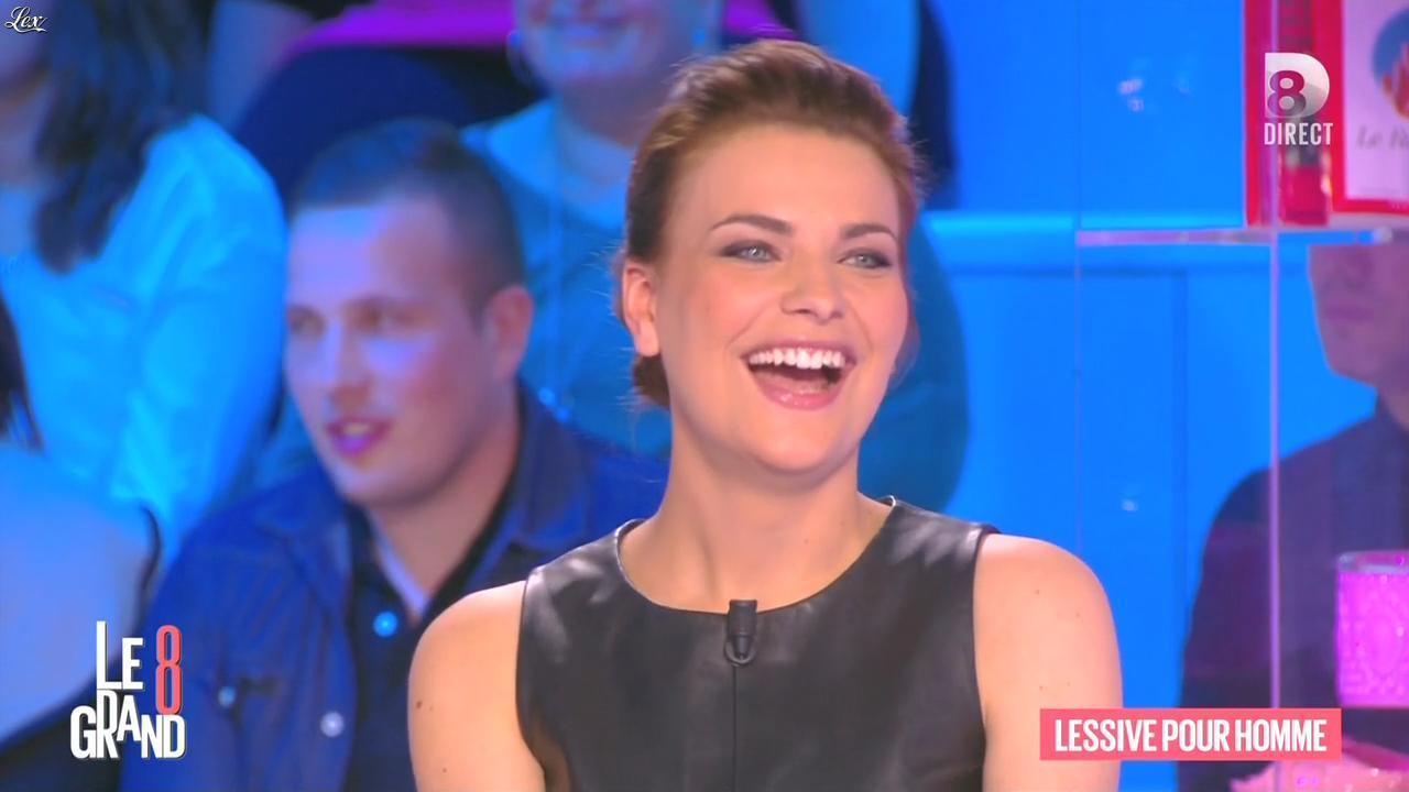 Magali Bertin dans le Grand 8. Diffusé à la télévision le 08/03/16.