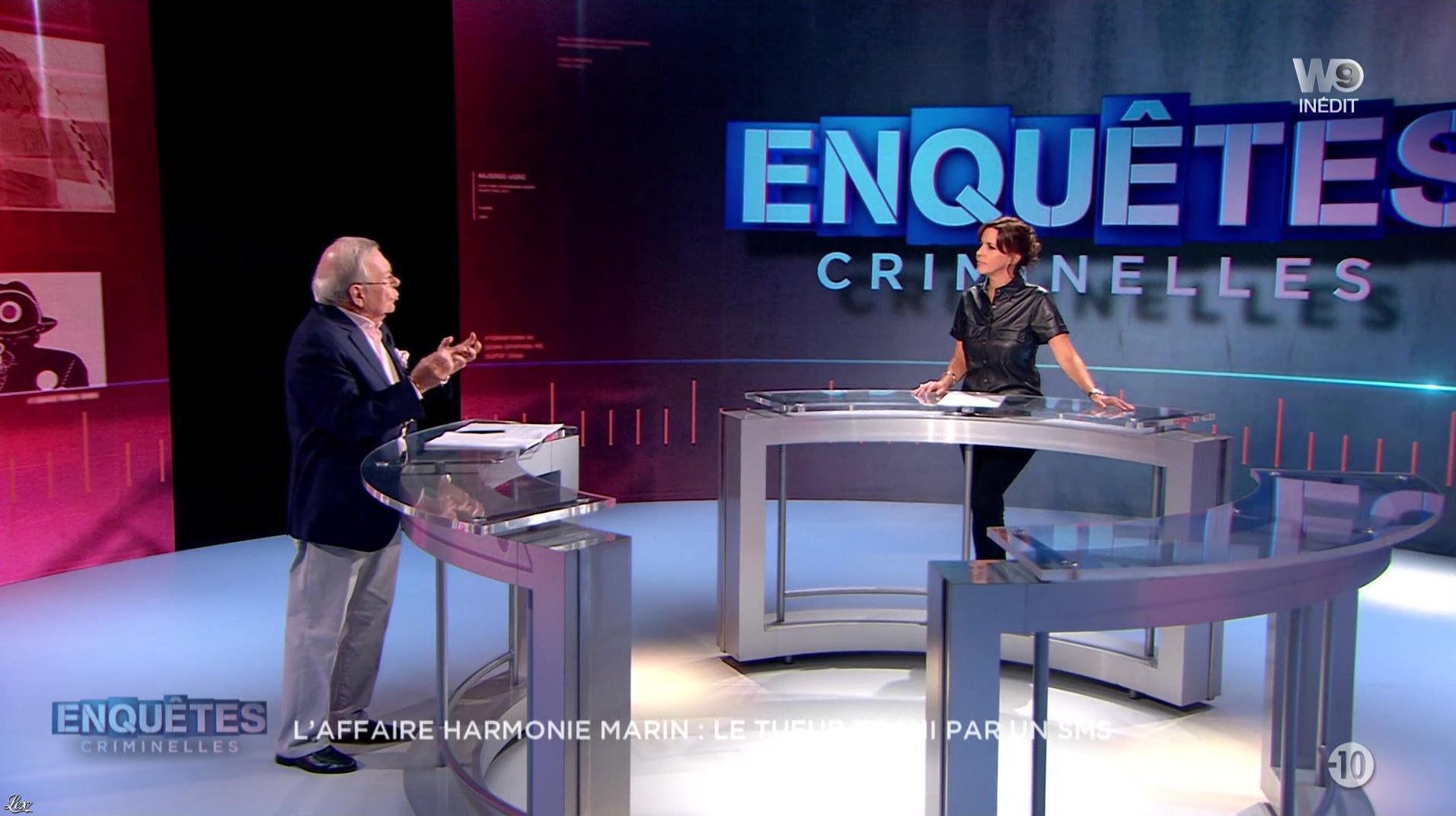 Nathalie Renoux dans Enquêtes Criminelles. Diffusé à la télévision le 14/09/16.
