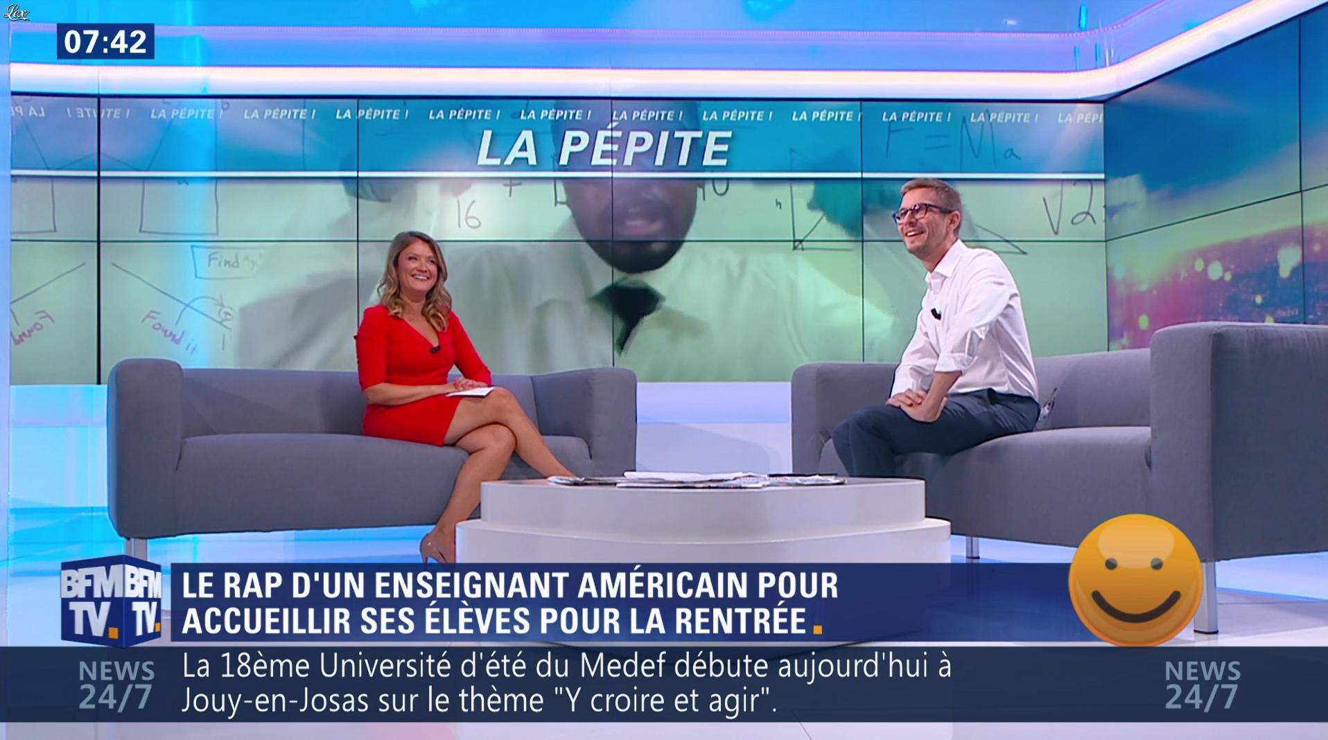 Pascale De La Tour Du Pin dans Première Edition. Diffusé à la télévision le 30/08/16.