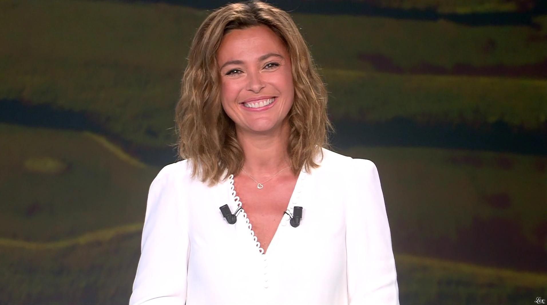 Sandrine Quétier lors du Tirage du Loto. Diffusé à la télévision le 29/08/16.