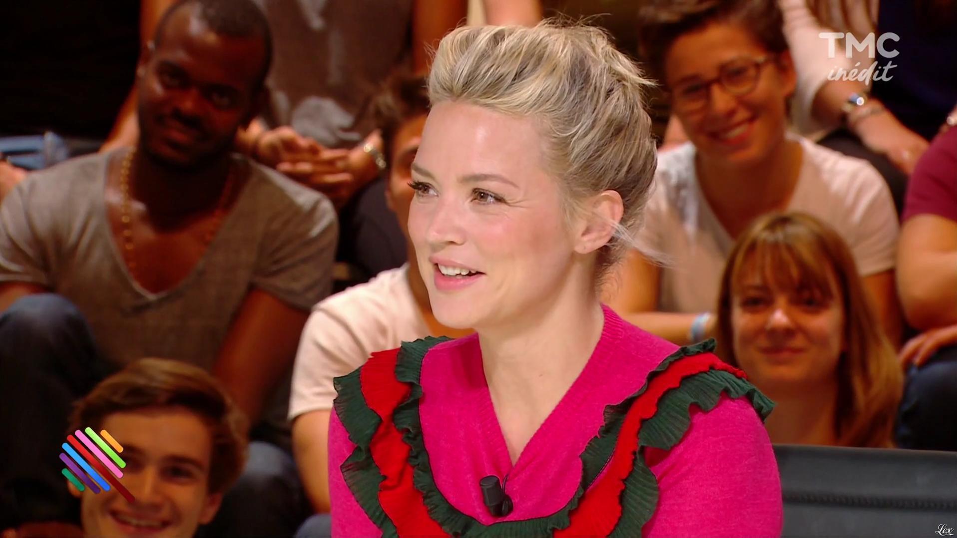 Virginie Efira dans Quotidien. Diffusé à la télévision le 13/09/16.