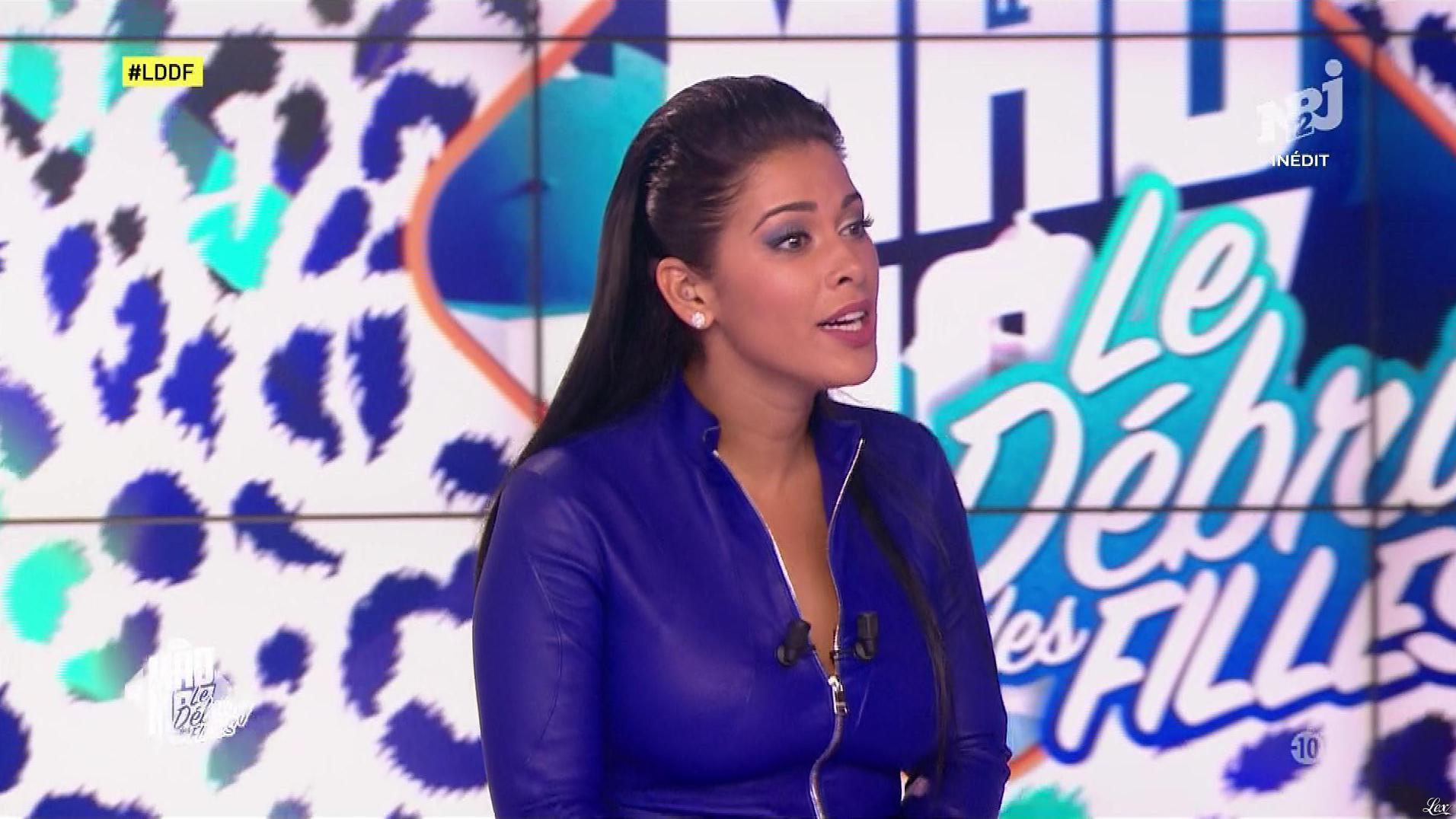 Ayem Nour dans, le Débrief des Filles. Diffusé à la télévision le 20/09/17.
