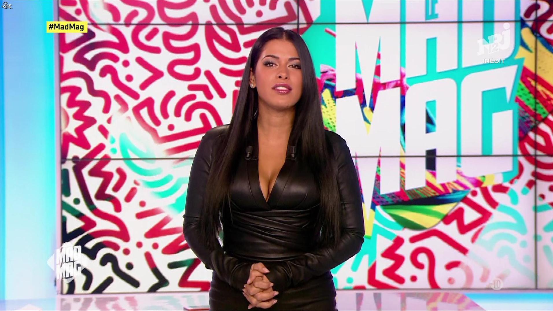 Ayem Nour dans le Mad Mag. Diffusé à la télévision le 19/09/17.
