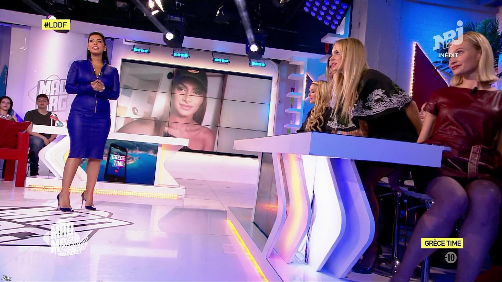 Ayem Nour et Marine Paquet dans, le Débrief des Filles. Diffusé à la télévision le 20/09/17.