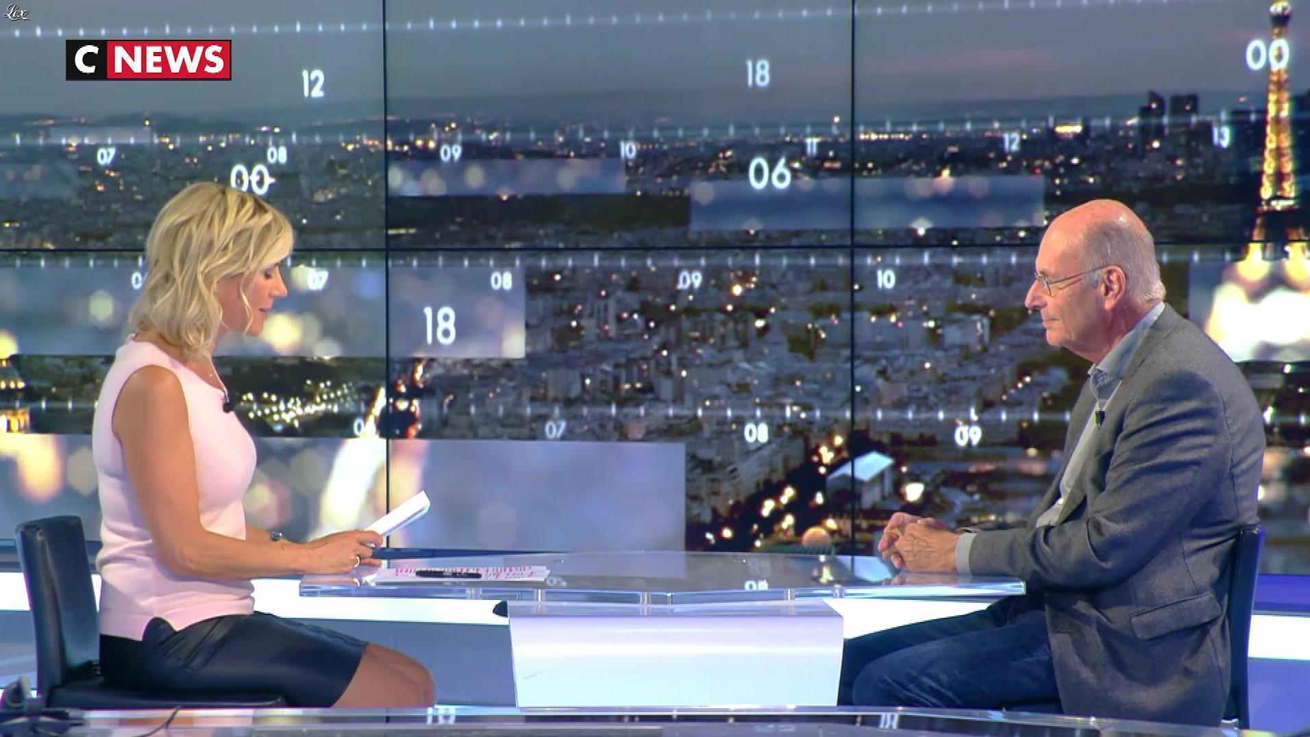 Laurence Ferrari dans le Grand JT. Diffusé à la télévision le 25/09/17.