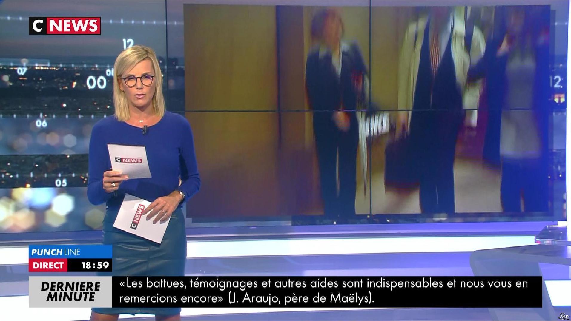 Laurence Ferrari dans Punchline. Diffusé à la télévision le 28/09/17.