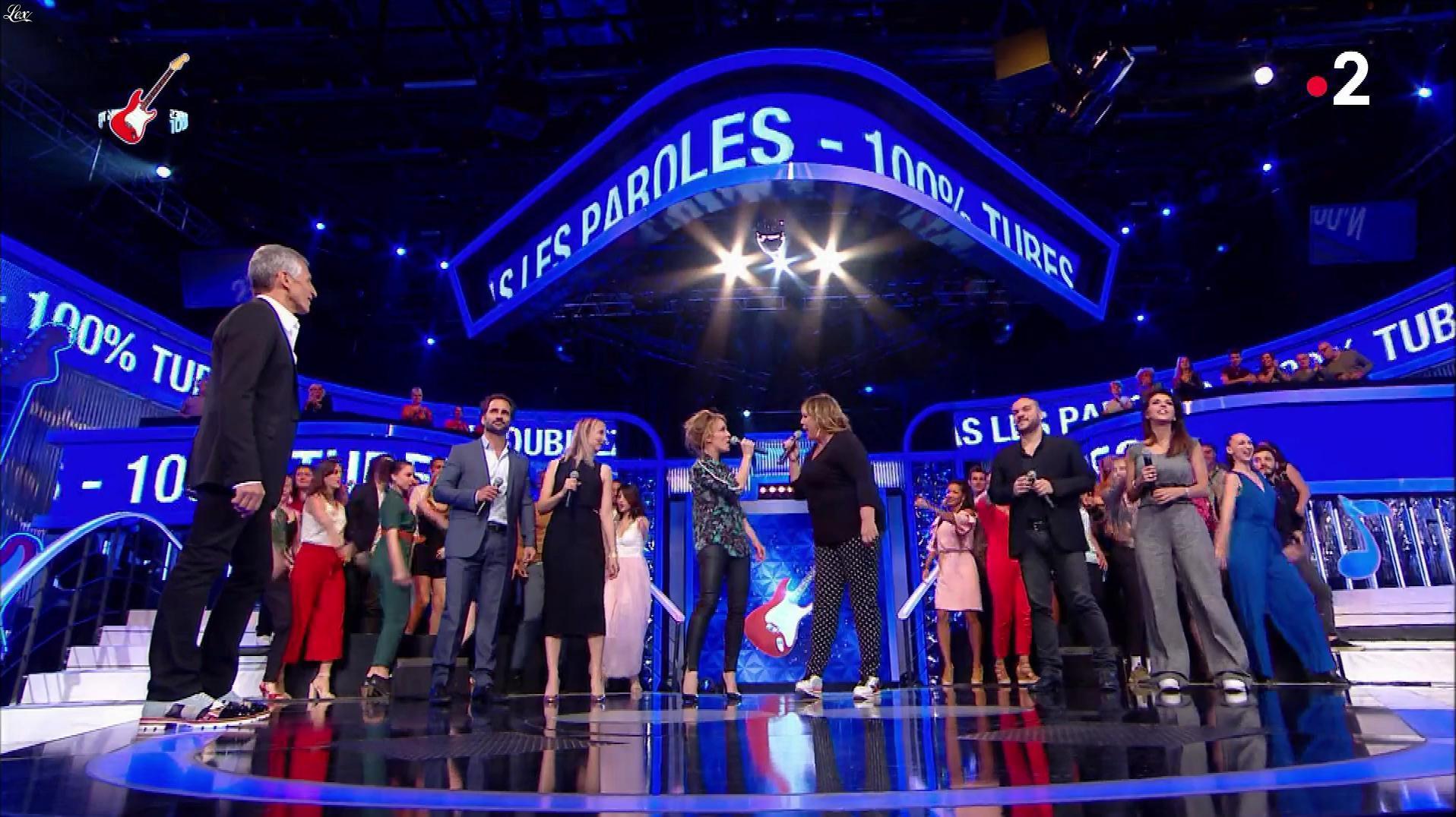 Alix Poisson dans n'oubliez pas les Paroles. Diffusé à la télévision le 09/06/18.