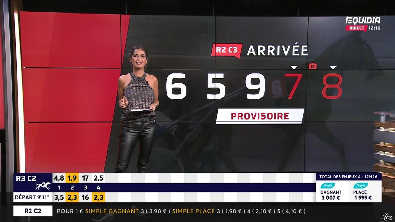 Amélie Bitoun dans le Grand Direct. Diffusé à la télévision le 01/08/18.