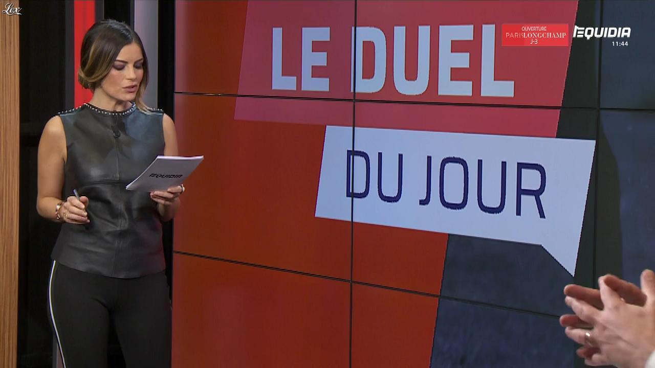 Amélie Bitoun dans le Grand Direct. Diffusé à la télévision le 05/04/18.