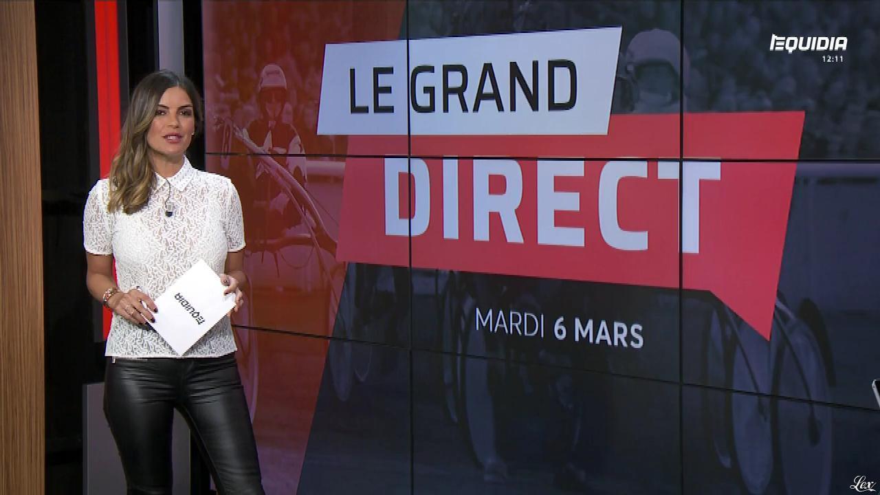 Amélie Bitoun dans le Grand Direct. Diffusé à la télévision le 06/03/18.