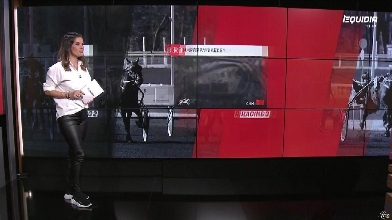 Amélie Bitoun dans le Grand Direct. Diffusé à la télévision le 07/03/18.