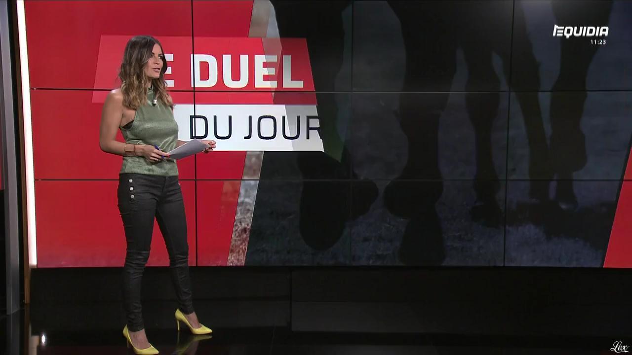 Amélie Bitoun dans le Grand Direct. Diffusé à la télévision le 08/05/18.