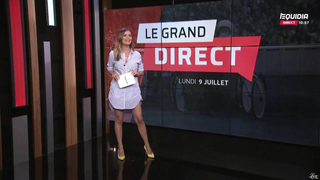 Amélie Bitoun dans le Grand Direct. Diffusé à la télévision le 09/07/18.