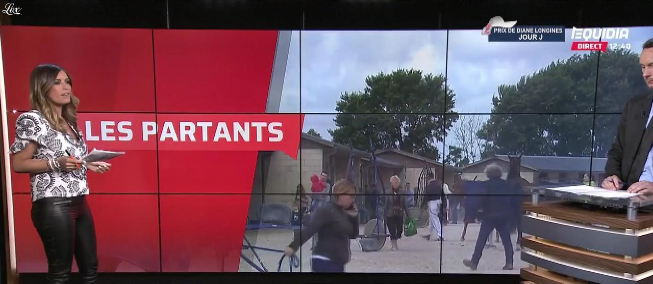 Amélie Bitoun dans le Grand Direct. Diffusé à la télévision le 17/06/18.