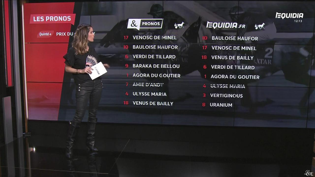 Amélie Bitoun dans le Grand Direct. Diffusé à la télévision le 20/02/18.