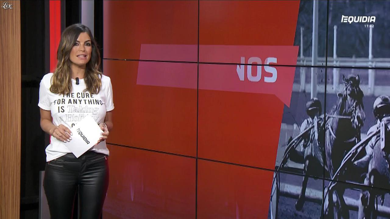 Amélie Bitoun dans le Grand Direct. Diffusé à la télévision le 22/05/18.