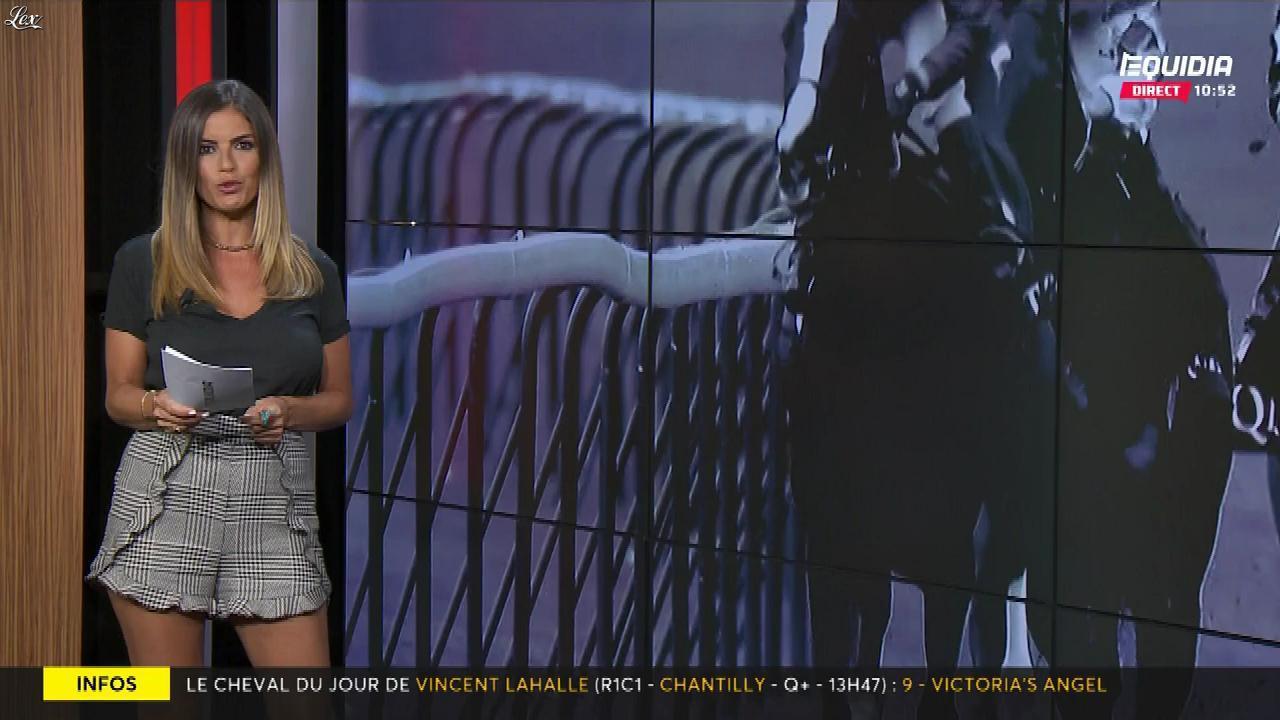Amélie Bitoun dans le Grand Direct. Diffusé à la télévision le 23/07/18.