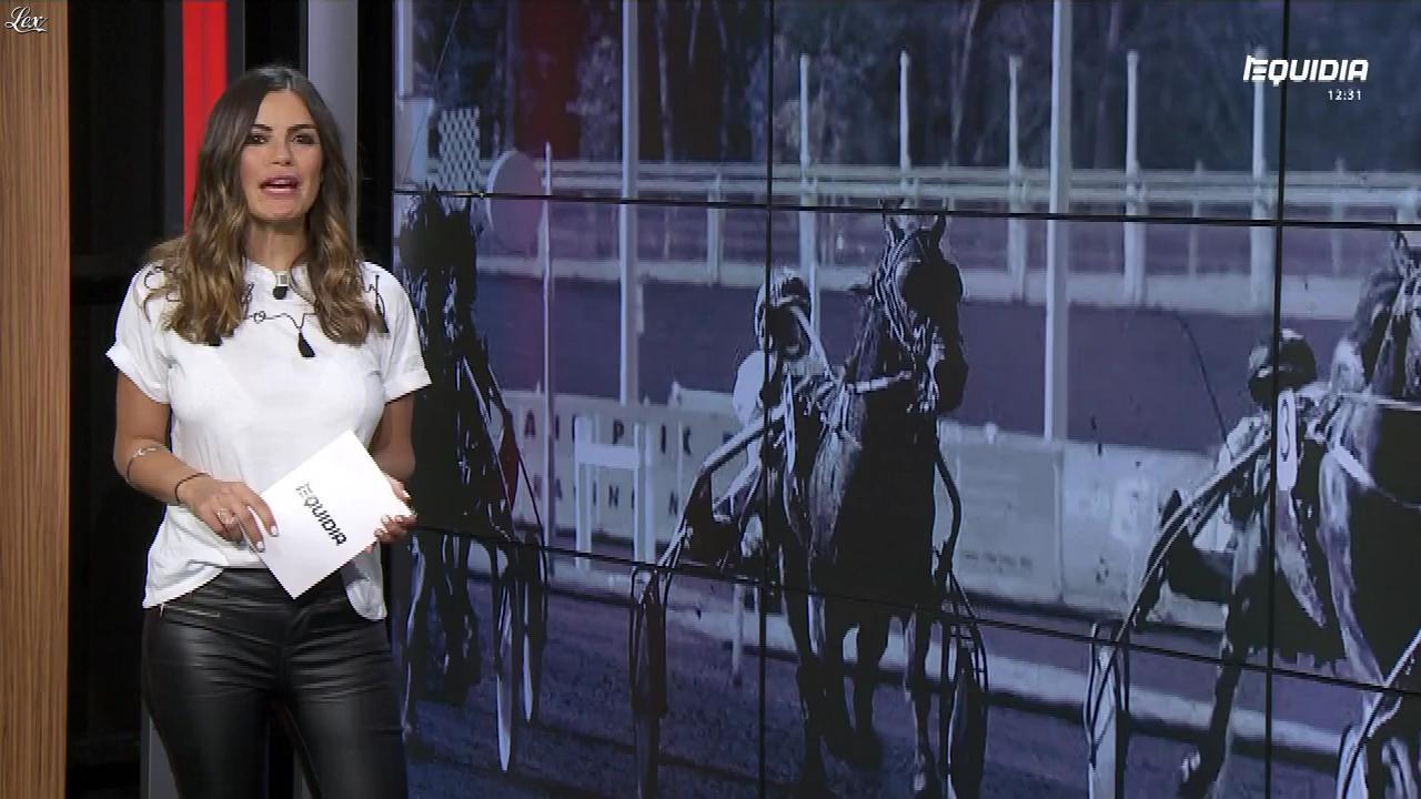 Amélie Bitoun dans le Grand Direct. Diffusé à la télévision le 28/05/18.