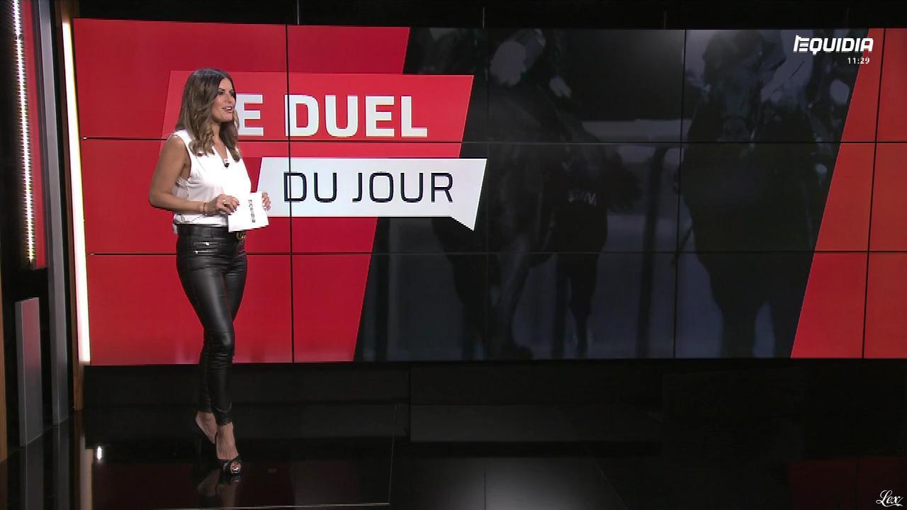 Amélie Bitoun dans le Grand Direct. Diffusé à la télévision le 30/05/18.