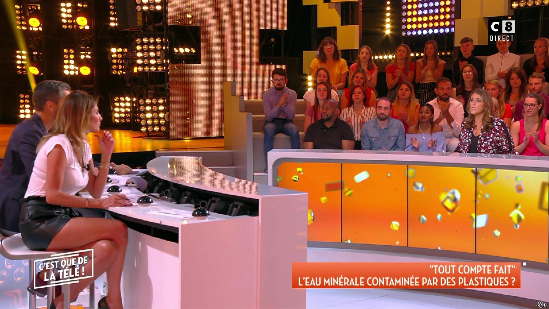 Caroline Ithurbide dans c'est Que de la Télé. Diffusé à la télévision le 11/09/18.
