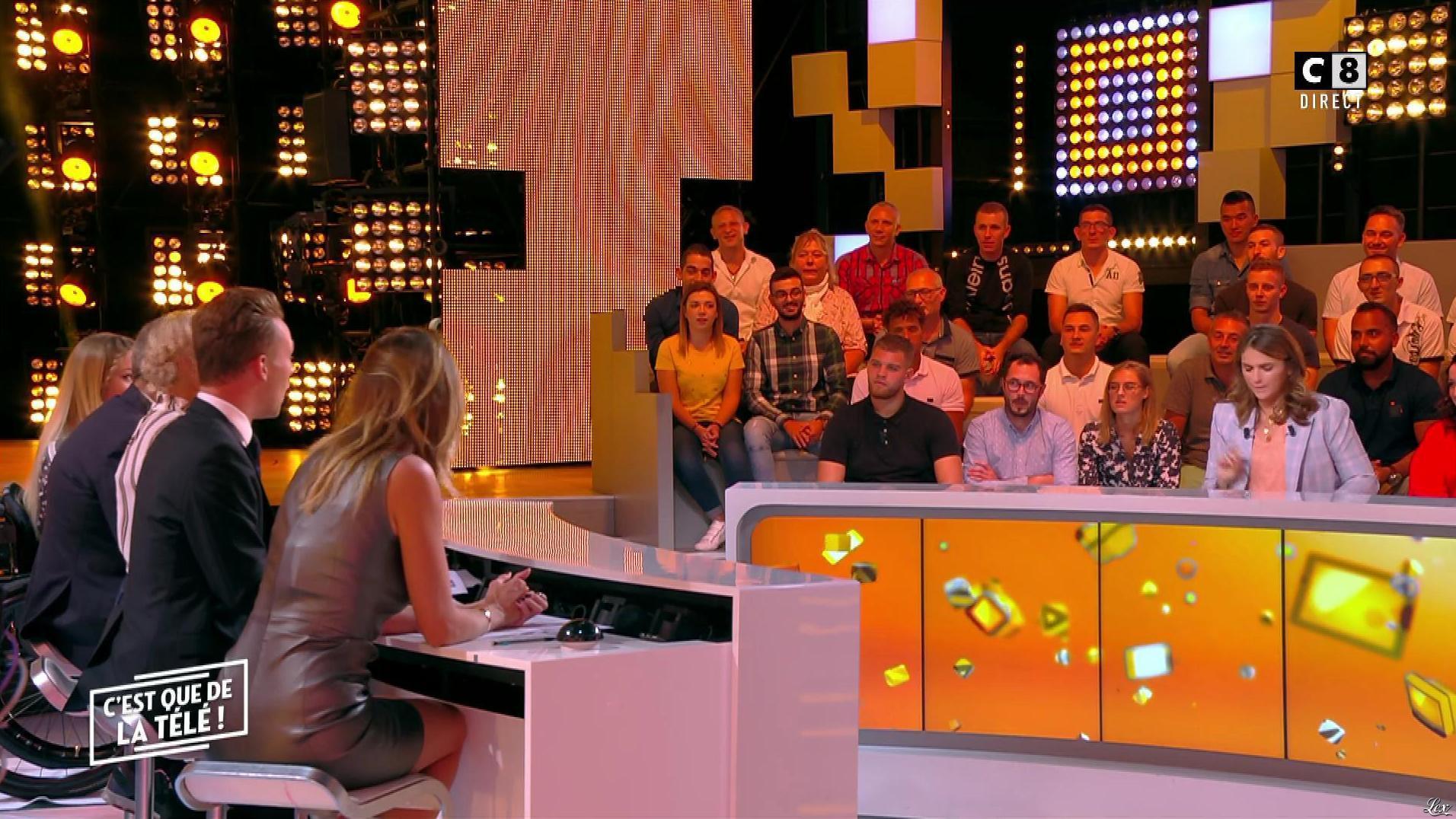 Caroline Ithurbide dans c'est Que de la Télé. Diffusé à la télévision le 14/09/18.